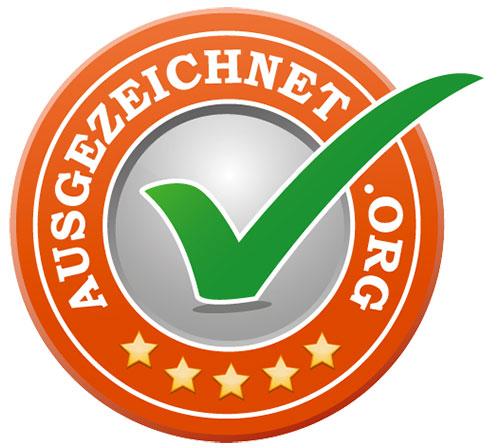 Logo Ausgezeichnet Org