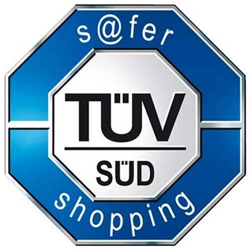TÜV SÜD s@fer-shopping Logo